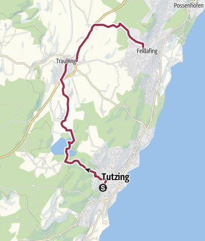 Karte / Deixlfurt-Traubing