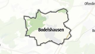 Mapa / Bodelshausen
