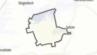 Karte / Hahnheim