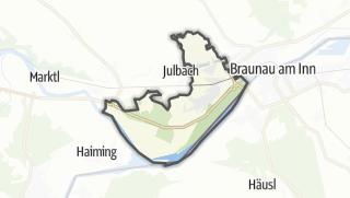地图 / Kirchdorf am Inn