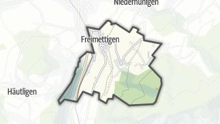 Hartă / Freimettigen