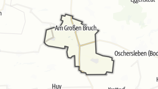 地图 / Am Großen Bruch