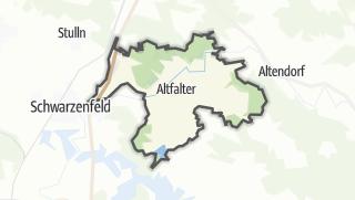 Mapa / Schwarzach bei Nabburg