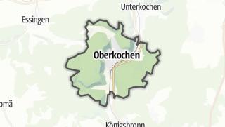 Mapa / Oberkochen