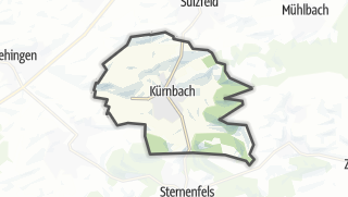 Mapa / Kürnbach