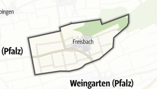 Karte / Freisbach