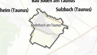 Mapa / Liederbach am Taunus