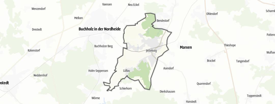 Mapa / Jesteburg
