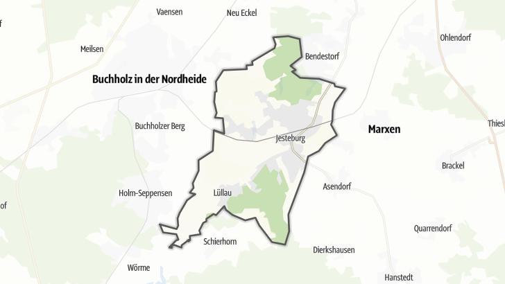 Kart / Jesteburg