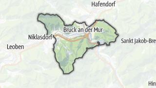 Cartina / Bruck an der Mur