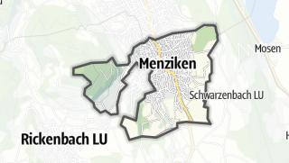 Cartina / Menziken