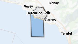 Карта / La Tour-de-Peilz