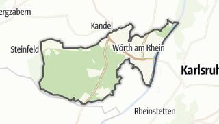 Karte / Wörth am Rhein