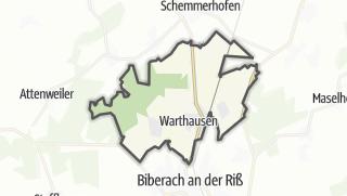 Karte / Warthausen