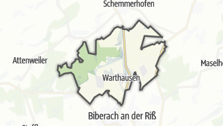 Cartina / Warthausen