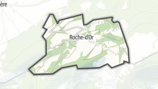 מפה / Roche-d'Or