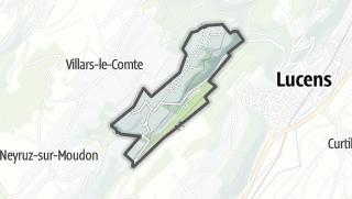 Карта / Oulens-sur-Lucens