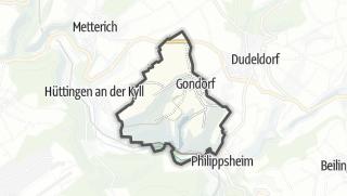 Karte / Gondorf