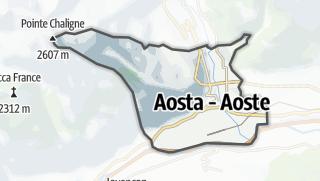 Karte / Aosta