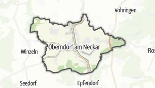 Cartina / Oberndorf am Neckar