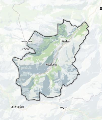 Karte / Mittelberg