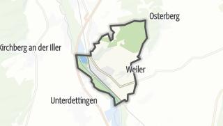 Karte / Kellmünz an der Iller