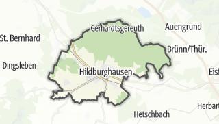 Cartina / Hildburghausen