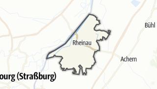 Karte / Rheinau