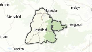 Mapa / Hosenfeld