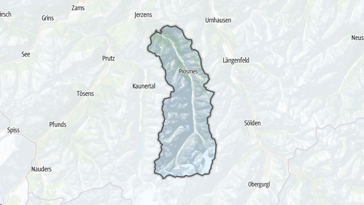 Map / Sankt Leonhard im Pitztal