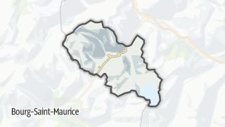 Karte / La Thuile