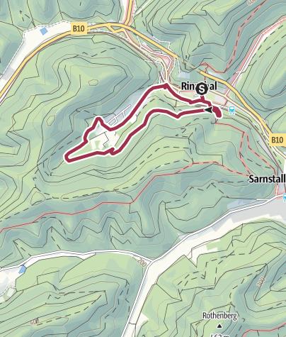 Karte / Rinnthaler-Sportlerweg