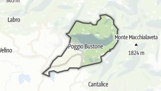 Mapa / Poggio Bustone