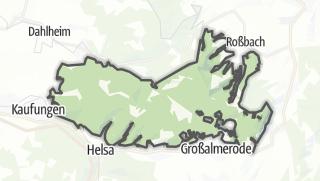 Carte / Gutsbezirk Kaufunger Wald
