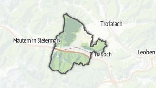 מפה / Kammern im Liesingtal