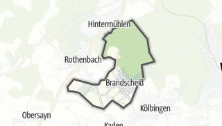 Mapa / Brandscheid