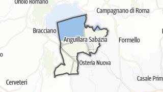地图 / Anguillara Sabazia