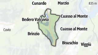 Mapa / Valganna