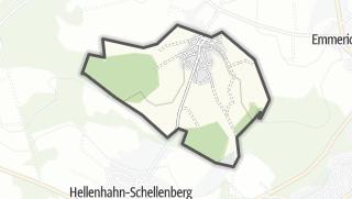Mapa / Neustadt/Westerwald