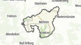 Carte / Nieheim
