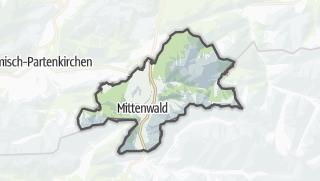 Karte / Mittenwald