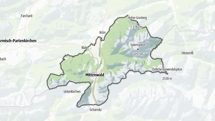 Map / Mittenwald