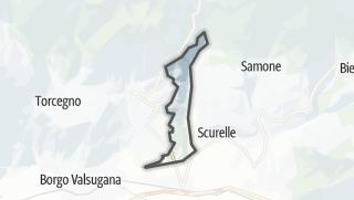Karte / Carzano