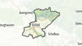 Cartina / Eisfeld