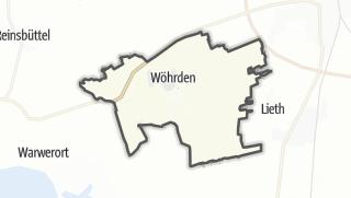 Mapa / Wöhrden
