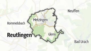 地图 / Metzingen