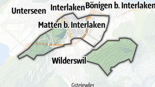 מפה / Matten bei Interlaken