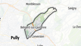 Карта / Belmont-sur-Lausanne