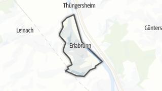 Cartina / Erlabrunn