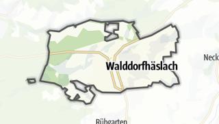 地图 / Walddorfhäslach